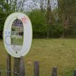 Panneau d'information sur l'éco-pâturage à Mouscron