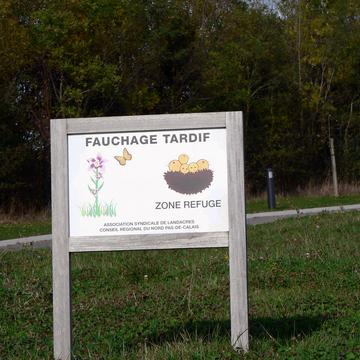 Sensibilisation sur la prairie à Landacres