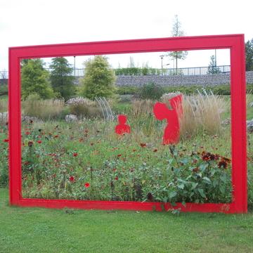 Prairie fleurie, art et communication